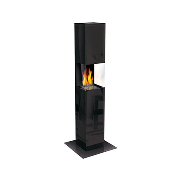 The Flame Square Glass schwarz